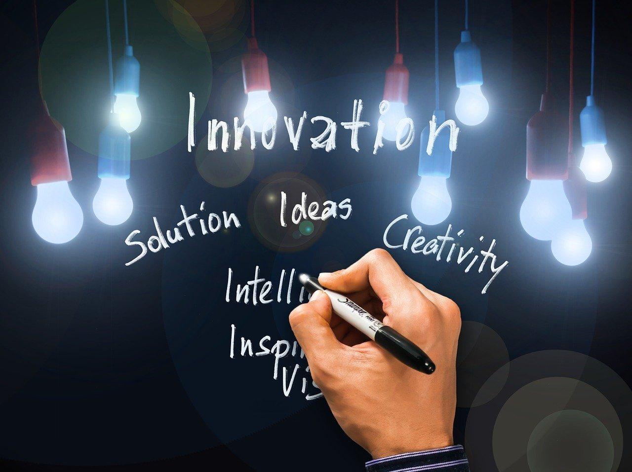 innovation, solution, vision